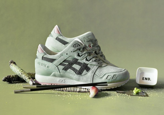 END And ASICS Create A Wasabi-Inspired GEL-Lyte III Collaboration