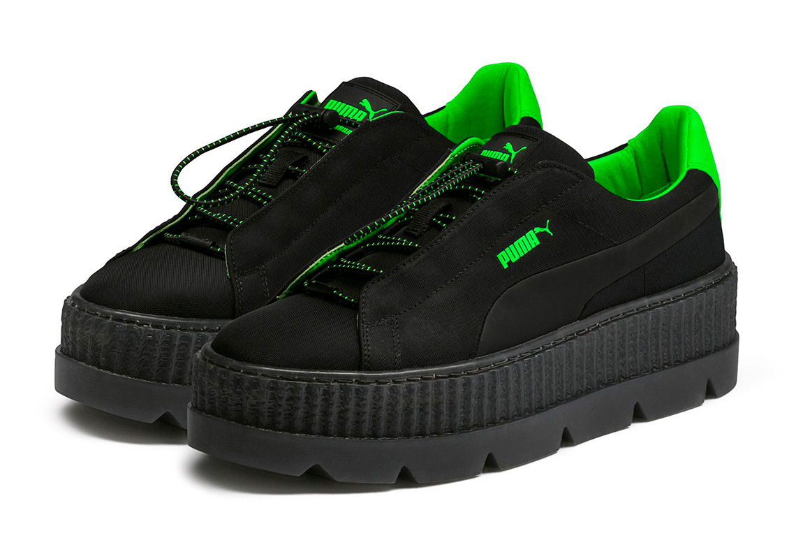 pretty nice 2a858 cd7cd Where To Buy The Fenty PUMA by Rihanna Cleated Creeper Surf ...