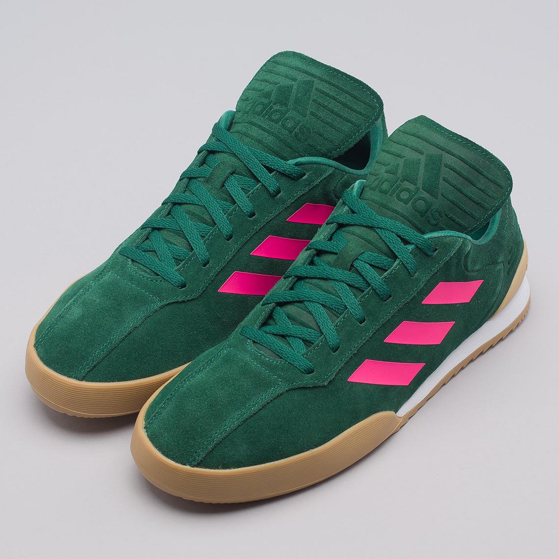 Gosha Rubchinskiy adidas Copa Trainer Burgundy Green  491611c28f2