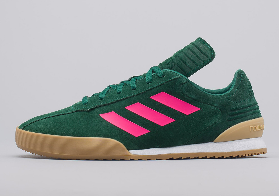 new arrival 2346b 8e150 Gosha Rubchinskiy and adidas Released Two Copa Trainers In Suede
