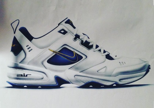 Jason Mayden Shares Early Nike Air Monarch II Sketch