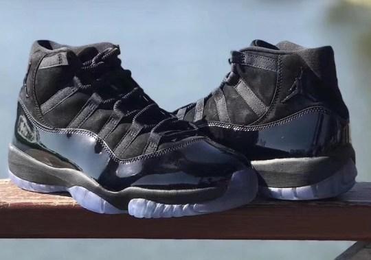 """Full Look At The Air Jordan 11 """"Prom Night"""""""