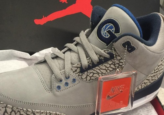 Georgetown Hoyas Get An Air Jordan 3 PE For March Madness