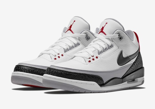 "Air Jordan 3 ""Tinker Hatfield"" Release Partially Postponed To April"
