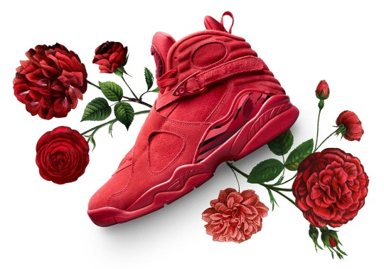 "Air Jordan 8 ""Valentine's Day"" To Restock For Japan's ""White Day"""