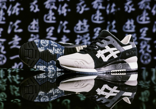 "Kicks Lab And ASICS Create The GEL-Lyte III ""KL-SHINOBI"" For Ninjas"