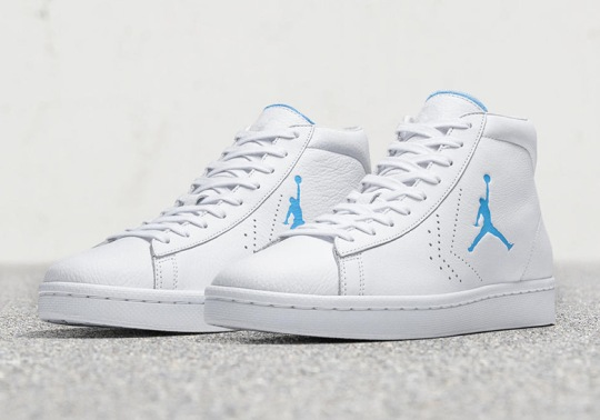 "This Converse Pro Leather Celebrates The Birth Of ""Michael Jordan"""