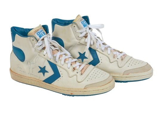 Michael Jordan's Game-Worn Converse Shoes From 1982 Are Up For Auction