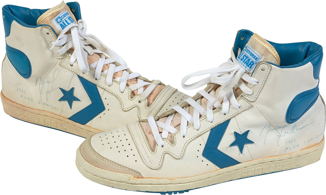 where were converse shoes invented by michael