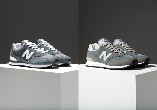 New Balance Honors The Legacy Of Grey With Three Epic 574 Releases