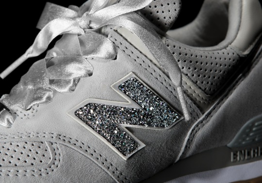 "The New Balance 574 Celebrates ""Grey Day"" With Swarovski Crystals"