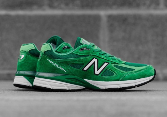 Celebrate St. Patrick's Day With The New Balance 990v4