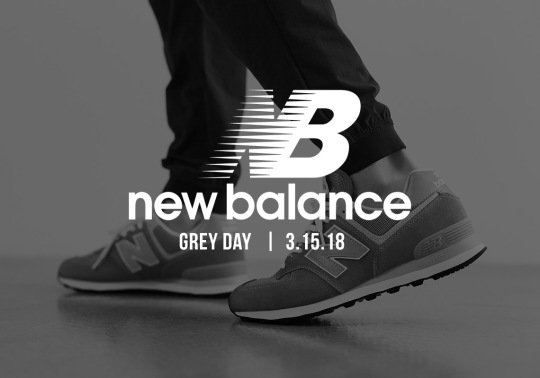 "New Balance To Celebrate ""Grey Day"" On March 15th"