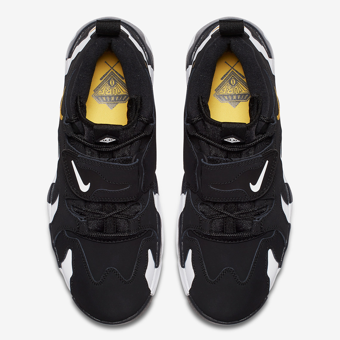 b0a7b31983 Nike Air DT Max '96. Color: Black/Varsity Maize-White Style Code:  316408-003. Advertisement. Advertisement