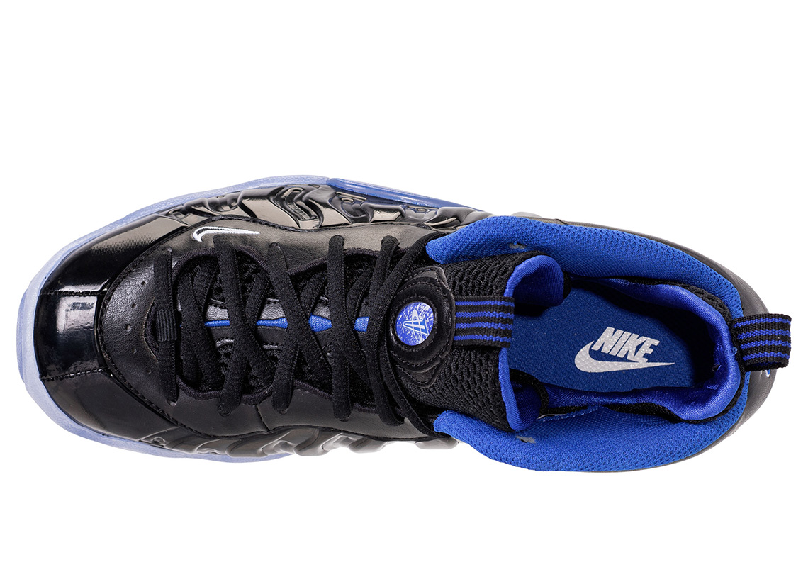 Nike Little Posite One Release Date: March 16, 2018 $180. Color:  Black/White-Hyper Royal Style Code: 644791-006 (Big Kid's) Style Code:  644790-006 (Crib)