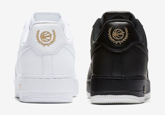 These Clean Nike Air Force 1s Feature A New Leaf Crest Logo