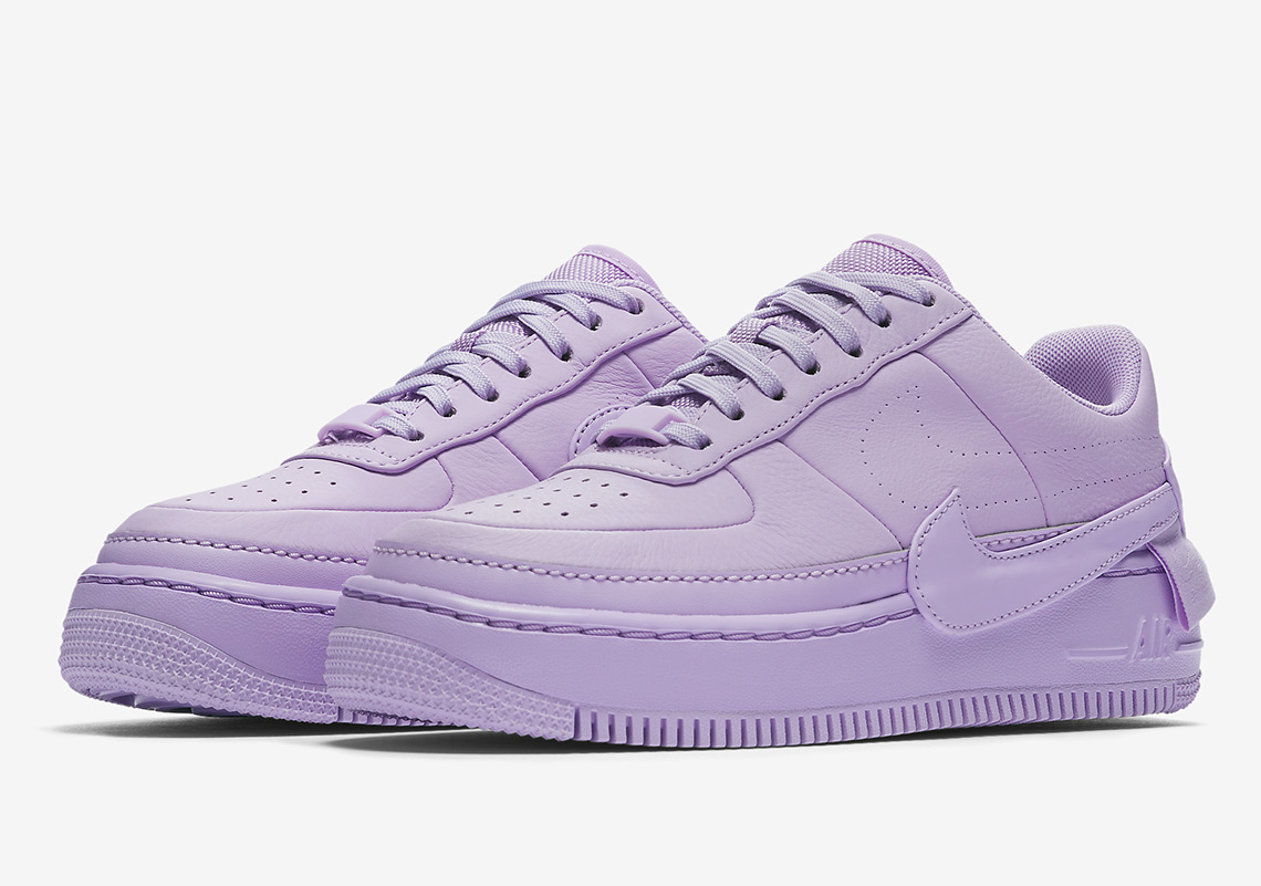 "The Nike Air Force 1 Low ""Jester"" Is Releasing Soon In ""Violet Mist"" b879abbe3"
