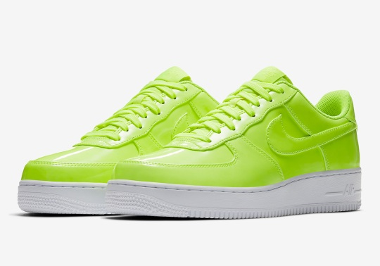 Bright Neon Tones Hit The Nike Air Force 1 Low