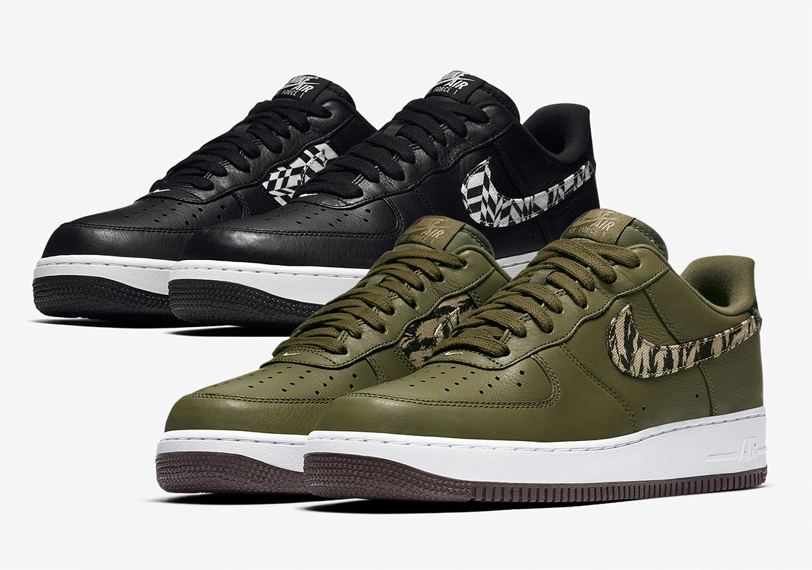 lowest price 5fe94 b4a91 ... cheap nike adds funky patterns to the air force 1 premium b177b 96ee6