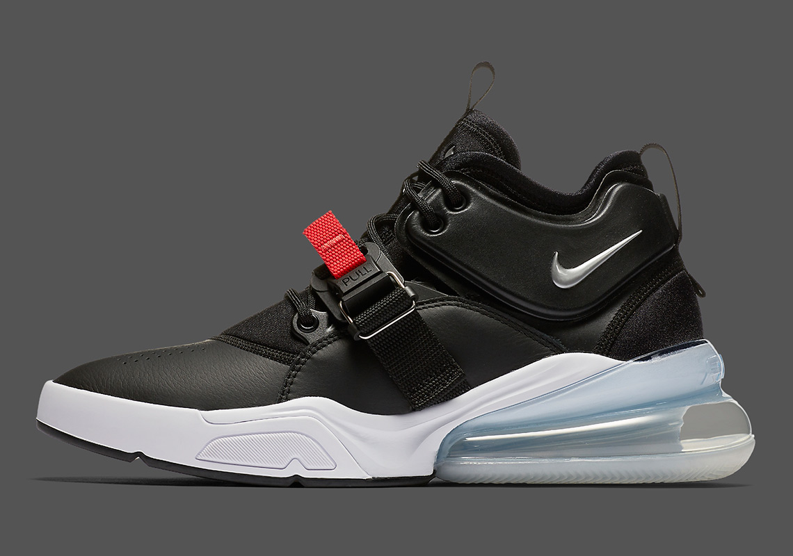 sports shoes 940be e3b55 Nike Air Force 270 Black Red AH6772-001 | SneakerNews.com