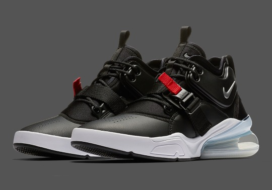 "Nike Air Force 270 Gets The Classic ""Bred"" Colorway"