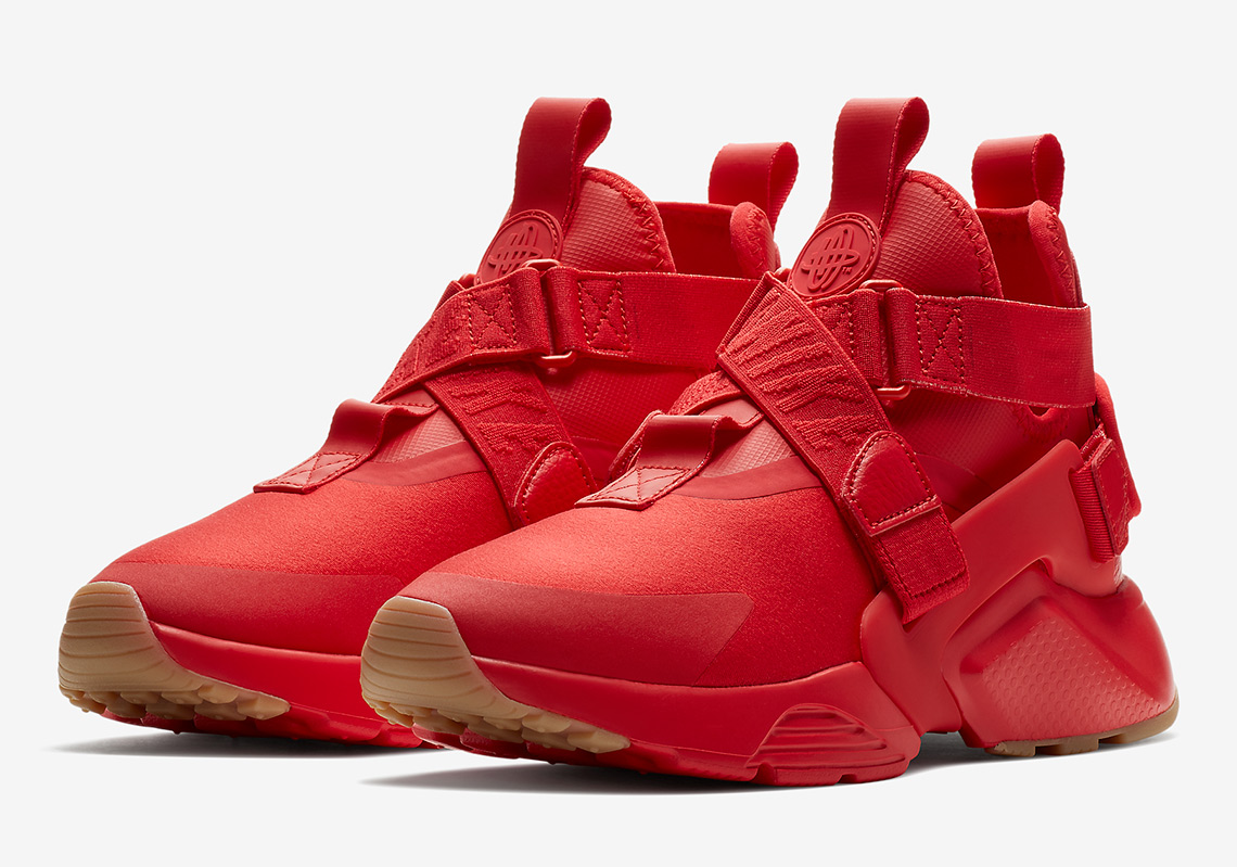 ef23136994462 Nike Air Huarache City Red AH6787-600 Available Now