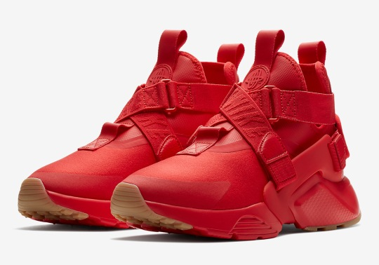 The Nike Air Huarache City Gets All Red