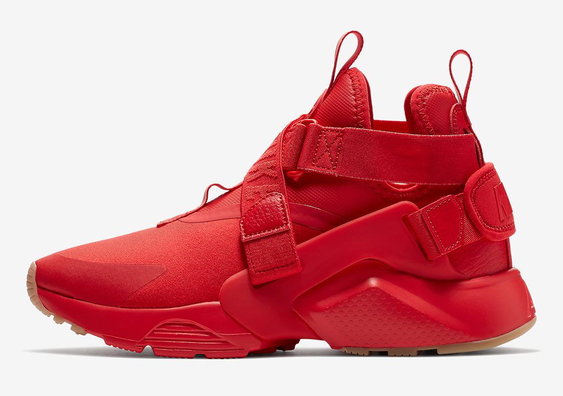 5d34cc862fa8f Nike Air Huarache City Red AH6787-600 Available Now