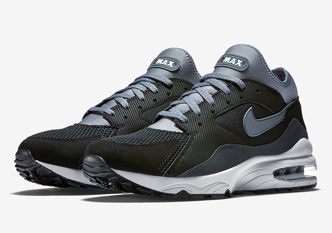 f89db7faaa38 Buy nike air max 93 triple black   Up to 43% Discounts