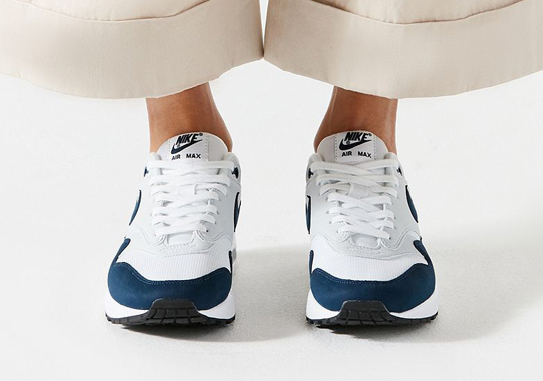 Nike Air Max 1. AVAILABLE AT SNS AVAILABLE AT Urban Outfitters  110. Color   White Obsidian Pure Platinum Style Code  319986-104 41eba8528