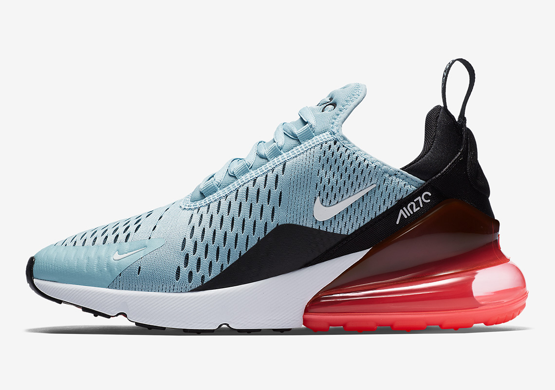 hot sale online e10a3 ce9bf Nike Air Max 270. AVAILABLE AT Nike  150. Color  Midnight Navy White Black  Style Code  AH8050-400