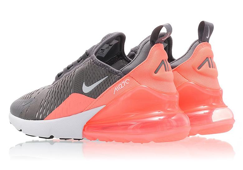 db052319eca8 Nike Air Max 270. Color  Gunsmoke White-Lt Atomic Pink Style Code   943346-001. Photos  Titolo