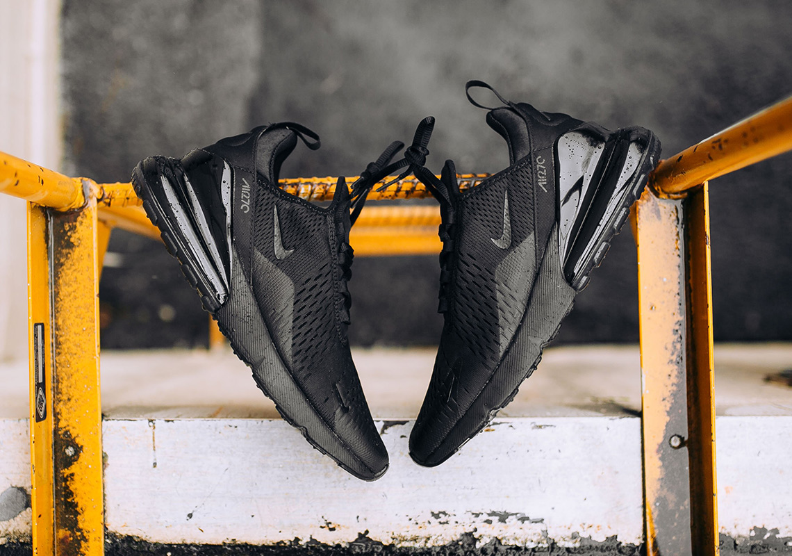 "Nike Air Max 270 ""Triple Black"" Is Coming Soon 6141c2af7"