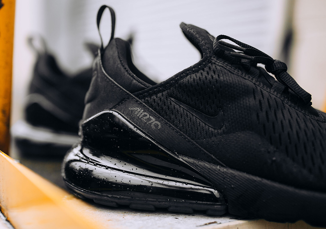 nike air max 270 triple black release info. Black Bedroom Furniture Sets. Home Design Ideas