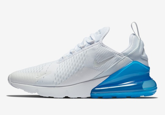 Nike Air Max 270 In White And Photo Blue Is Coming Soon