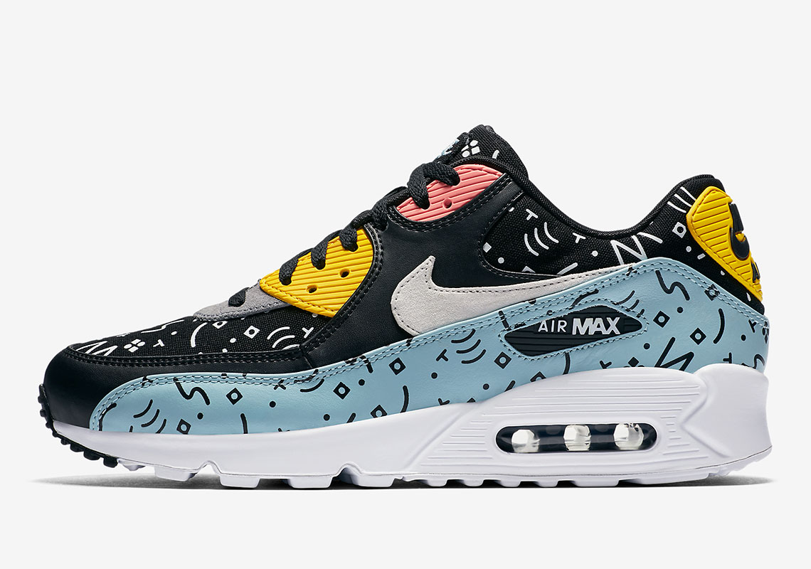 This Nike Air Max 90 Features Random Scribbles