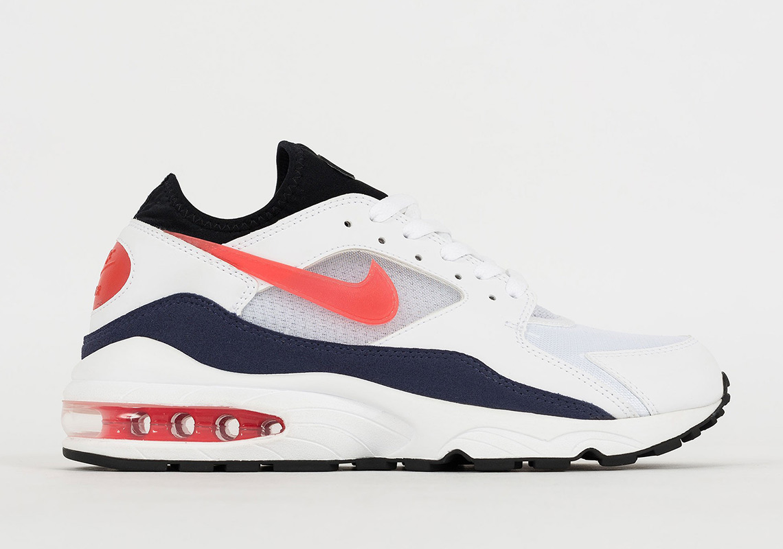 Nike Air Max 93 'Flame Red' Habanero Red 306551 102
