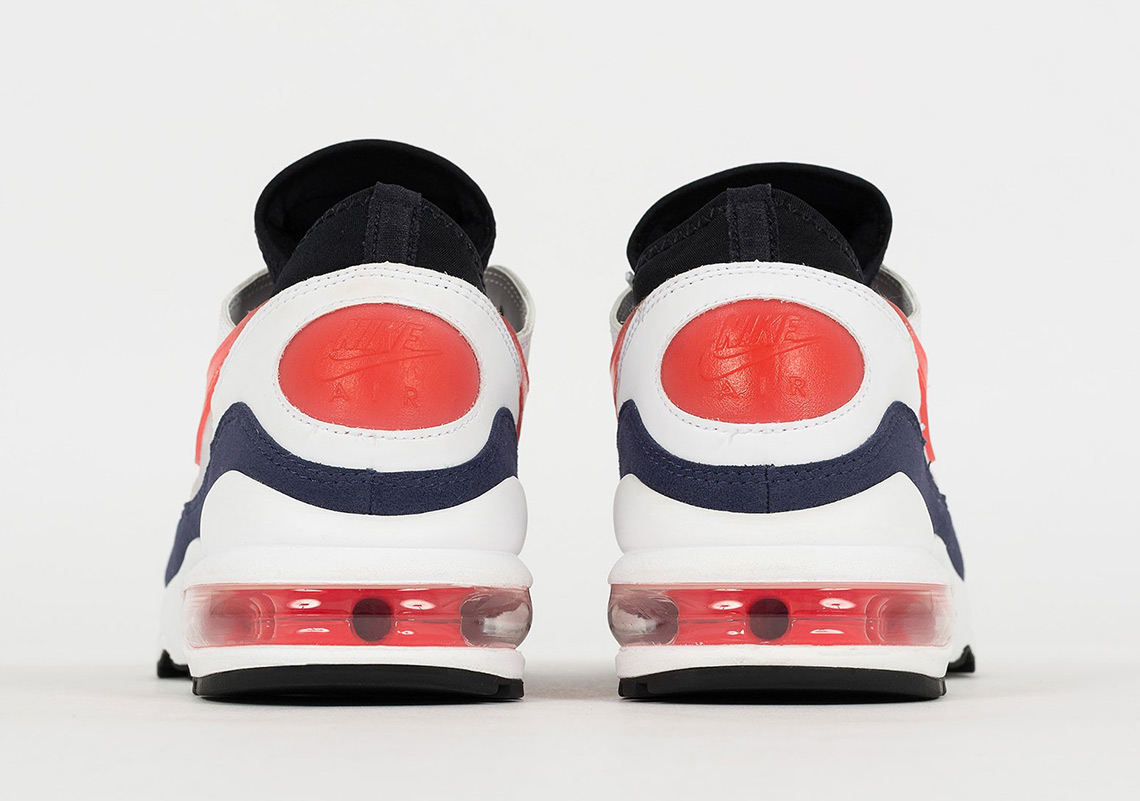 Nike Air Max 93 Flame Red 306551 102 Release Info