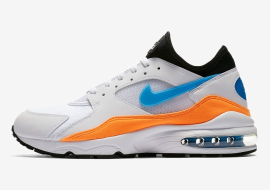"""Nike Set To Release The Air Max 93 """"Nebula Blue"""""""