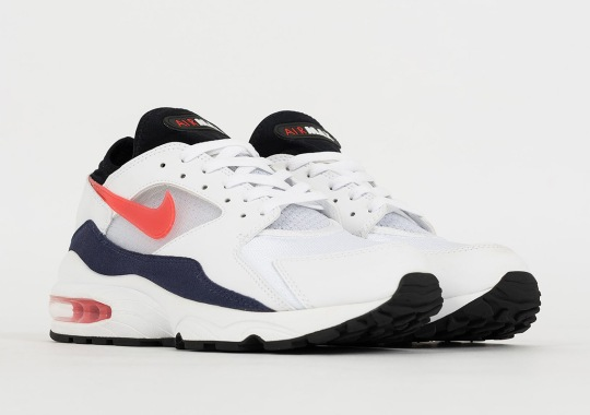 """Nike Brings Back The Air Max 93 """"Flame Red"""" With Habanero Red"""