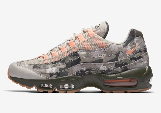 """Nike Air Max 95 """"Camo"""" To Release This Summer"""