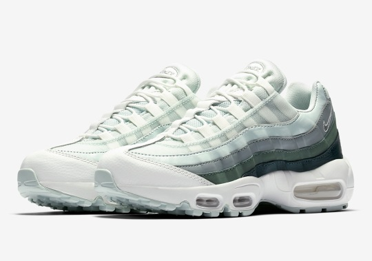 Nike Introduces A Green Gradient On The Air Max 95
