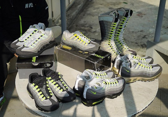 """A Brief History Of The Nike Air Max 95 """"Neon"""""""