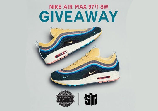 Lapstone & Hammer and Sneaker News To Give Away Five Pairs Of The Nike Air Max 97/1 SW