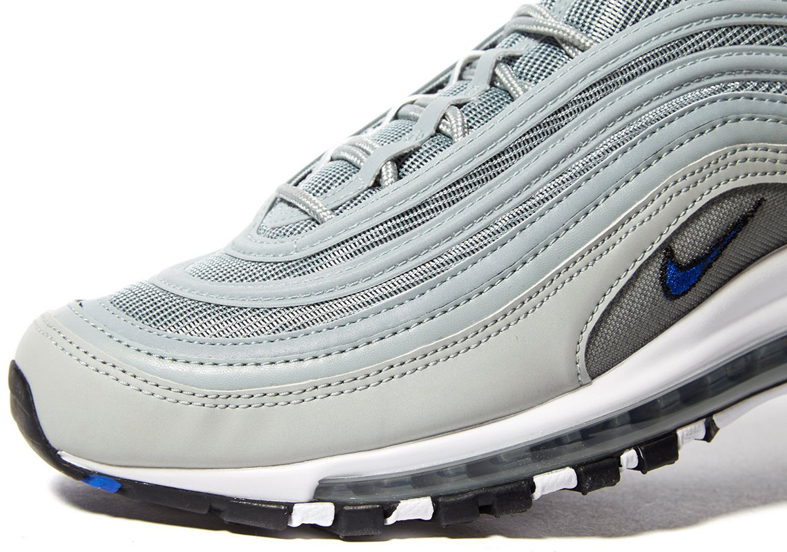 Nike Air Max 97. AVAILABLE AT JD Sports £145. Color  Pumice Racer Blue 55ab19bae469