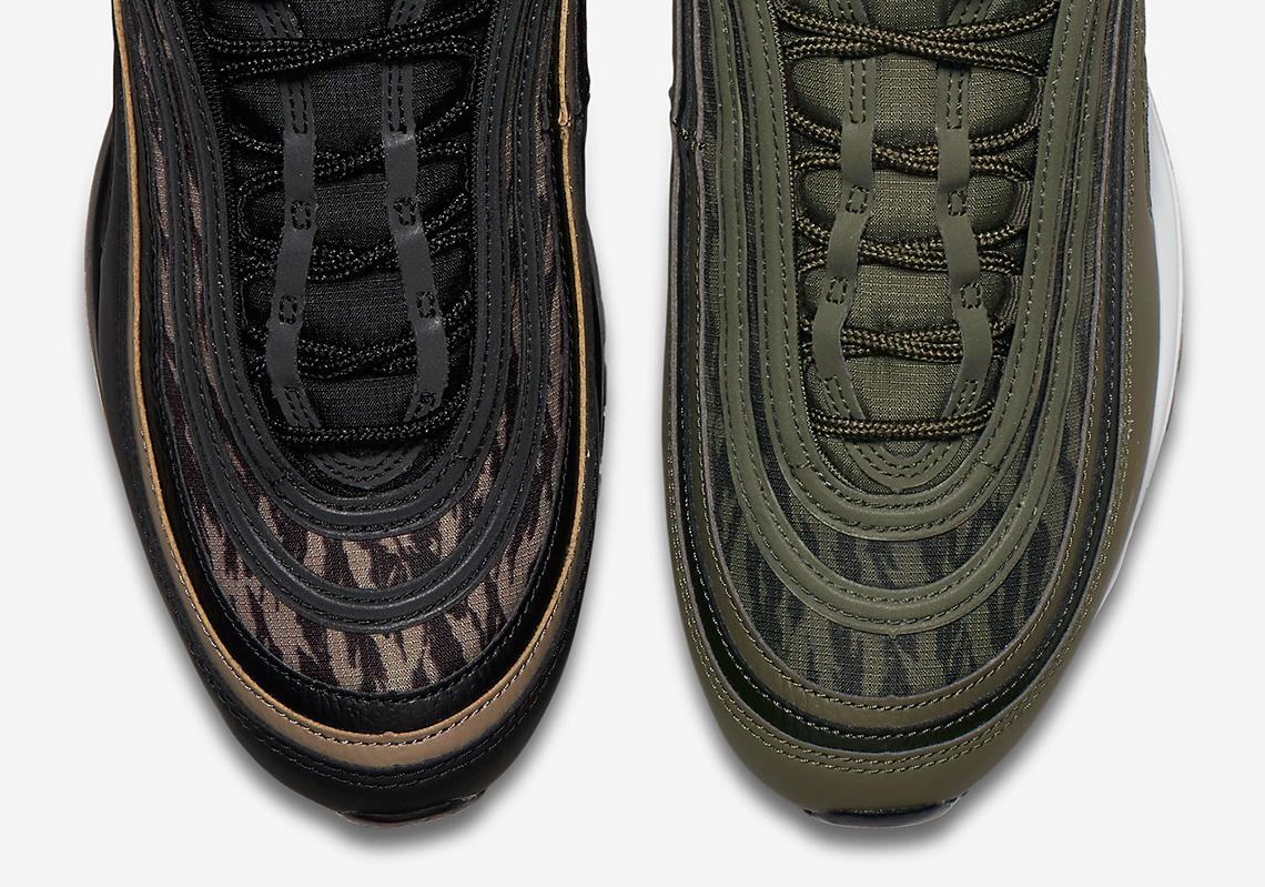 Nike Air Max 97 Tiger Camo AQ4132 001 AQ4132 200 Sneaker