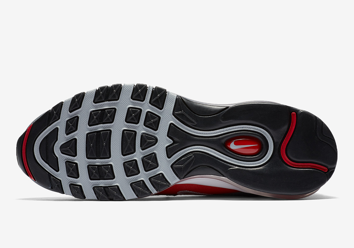 Nike Air Max 97 Grå / Rød YHEmgh2CZP