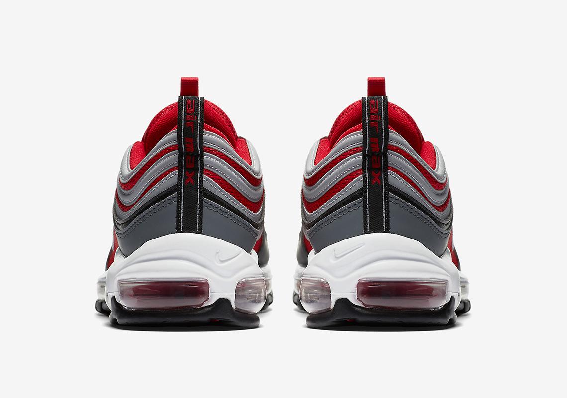 Nike Air Max 97 Rojo Y Gris 25emassjlr