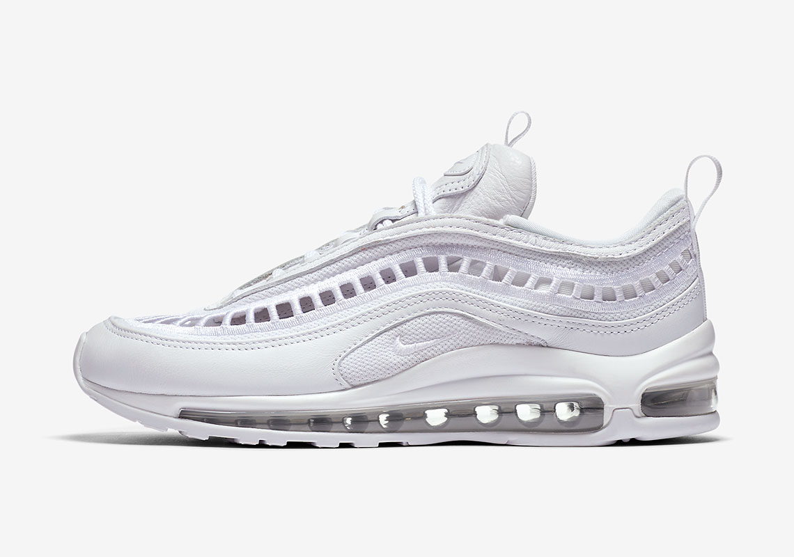 nike air max 97 ultra '17 bianche