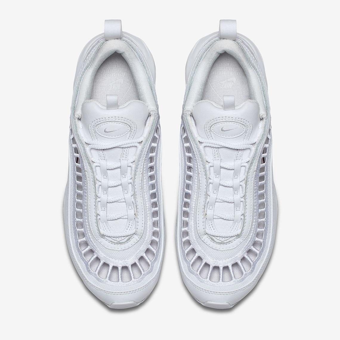 Nike Air Max 97 De Las Mujeres Conversan De Ultra Blanco XabUaCP9za